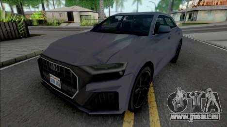 Audi Q8 2019 Improved pour GTA San Andreas