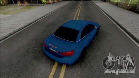 BMW M4 F82 Convertible pour GTA San Andreas