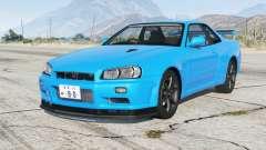 Nissan Skyline GT-R V-spec II (BNR34) 2000〡add-on pour GTA 5