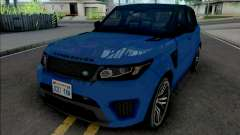 Land Rover Range Rover Sport SVR 2017 Improved