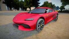 Koenigsegg Gemera pour GTA San Andreas