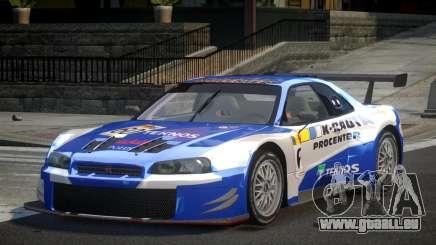 Nissan Skyline R34 G-Custom L3 pour GTA 4