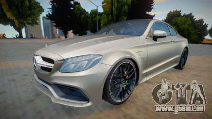 Mercedes Benz-AMG C63 S Coupe pour GTA San Andreas