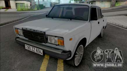 Vaz 2107 Voll Real für GTA San Andreas