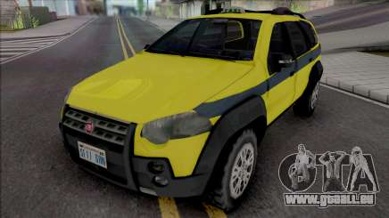 Fiat Palio Weekend Adventure 2013 Taxi RJ pour GTA San Andreas