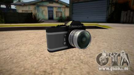 The camera is Nikon pour GTA San Andreas