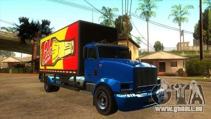 GTA V MTL Flatbed (VehFuncs Style) pour GTA San Andreas
