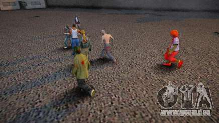 The Zombie Deathmatch pour GTA San Andreas