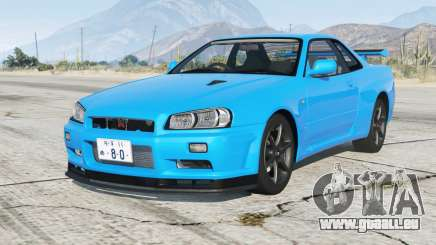 Nissan Skyline GT-R V-spec II (BNR34) 2000〡add-on pour GTA 5