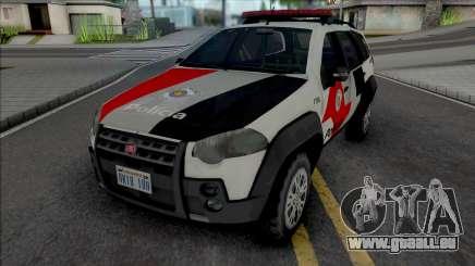 Fiat Palio Weekend Adventure 2013 PMESP pour GTA San Andreas