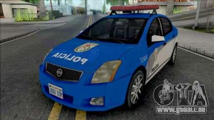 Nissan Sentra 2009 PMERJ pour GTA San Andreas