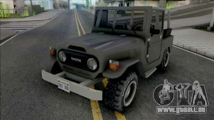 Toyota Bandeirante (Jeep) pour GTA San Andreas