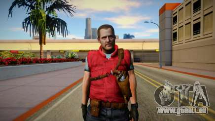 Barry Burton Skin pour GTA San Andreas