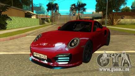 Porsche 911 Turbo S Black pour GTA San Andreas