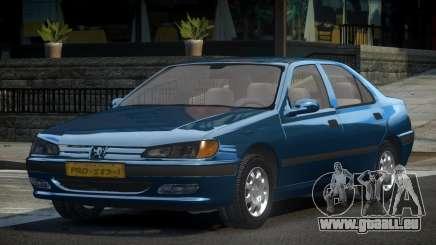 1998 Peugeot 406 pour GTA 4