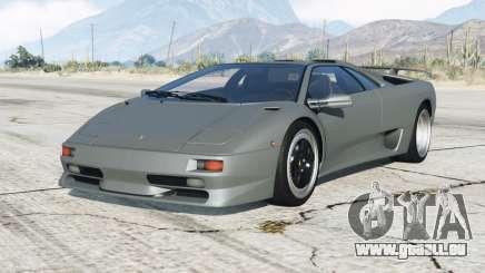 Lamborghini Diablo SV 1997〡add-on pour GTA 5