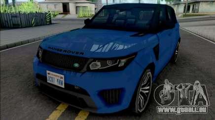 Land Rover Range Rover Sport SVR 2017 Improved für GTA San Andreas