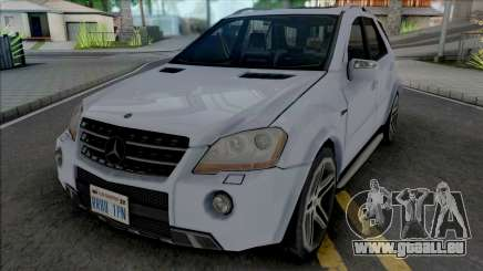 Mercedes-Benz ML 63 AMG 2009 Improved pour GTA San Andreas