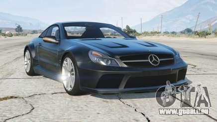 Mercedes-Benz SL 65 AMG Black Series (R230) 2008〡add-on pour GTA 5