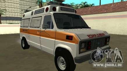 Ford Econoline E-250 Krankenwagen 1986 für GTA San Andreas