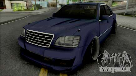Toyota Crown Blue pour GTA San Andreas
