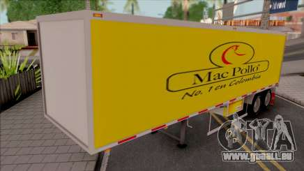 Container (Colombian Logos) pour GTA San Andreas