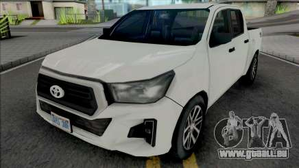 Toyota Hilux 2019 Improved pour GTA San Andreas