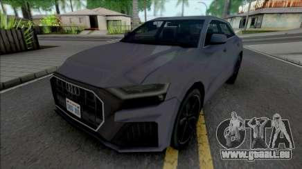 Audi Q8 2019 Improved pour GTA San Andreas