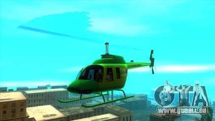 MegaFon Helicopter für GTA San Andreas
