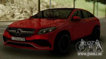 Mercedes-Benz GLE 63S AMG pour GTA San Andreas