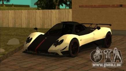 Pagani Zonda Cinque 2008 pour GTA San Andreas