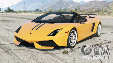 Lamborghini Gallardo LP 570-4 Spyder Performantᶒ pour GTA 5