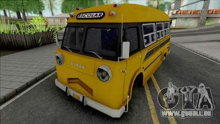 Dodge Bus Escolar pour GTA San Andreas