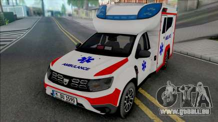 Dacia Duster 2020 Ambulance pour GTA San Andreas