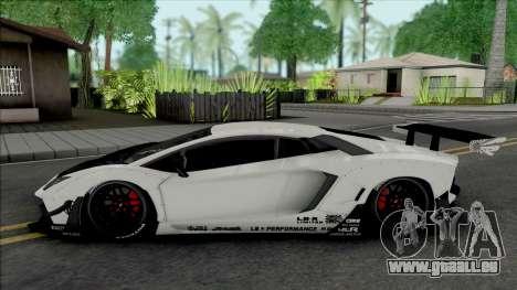 Lamborghini Aventador LP700-4 LB Limited Edition pour GTA San Andreas