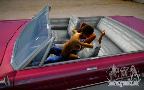 Vrai sexe dans la voiture de GTA V pour GTA San Andreas