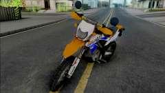 Kawasaki KLX 150 Orange Extreme pour GTA San Andreas