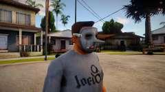 Slipknot Mask For Cj für GTA San Andreas