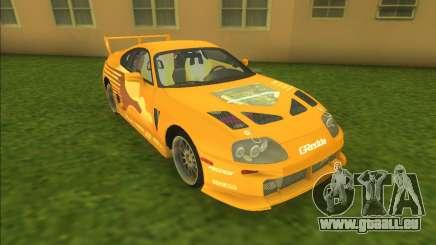 2F2F Toyota Supra für GTA Vice City