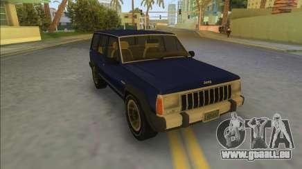 Jeep Cherokee XJ 1984-1991 für GTA Vice City