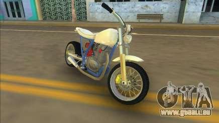 Honda FTR Custom Mini pour GTA Vice City