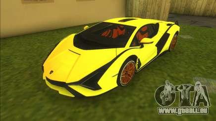 Lamborghini Sian FKP 37 pour GTA Vice City
