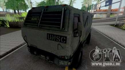 Cargo Truck UNSC für GTA San Andreas