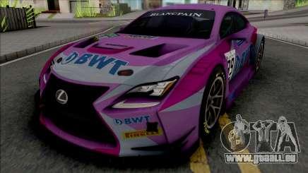 Lexus RC F GT3 für GTA San Andreas