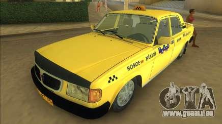 Gaz 3110 Taxi pour GTA Vice City