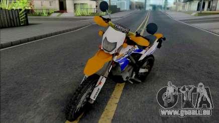 Kawasaki KLX 150 Orange Extreme für GTA San Andreas