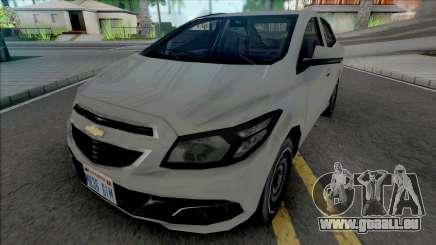 Chevrolet Prisma LT 2014 [VehFuncs] pour GTA San Andreas