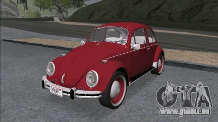 Volkswagen Beetle (Beetle) 1300 1971 - Brésil pour GTA San Andreas