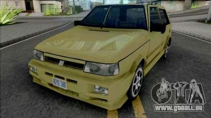 Fiat Uno [VehFuncs] pour GTA San Andreas