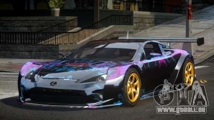 Lexus LFA PSI-R L4 für GTA 4